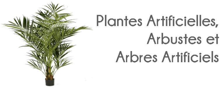 Grand choix de plantes Artificielles, Arbustes et Arbres Artificiels Flora Déco