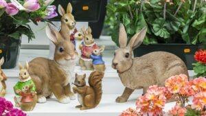 Statues animaux en résine chez Flora Déco pour décorer vos jardins et terrasses