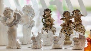 Statues et Anges Résine Flora Déco pour décoration tombes