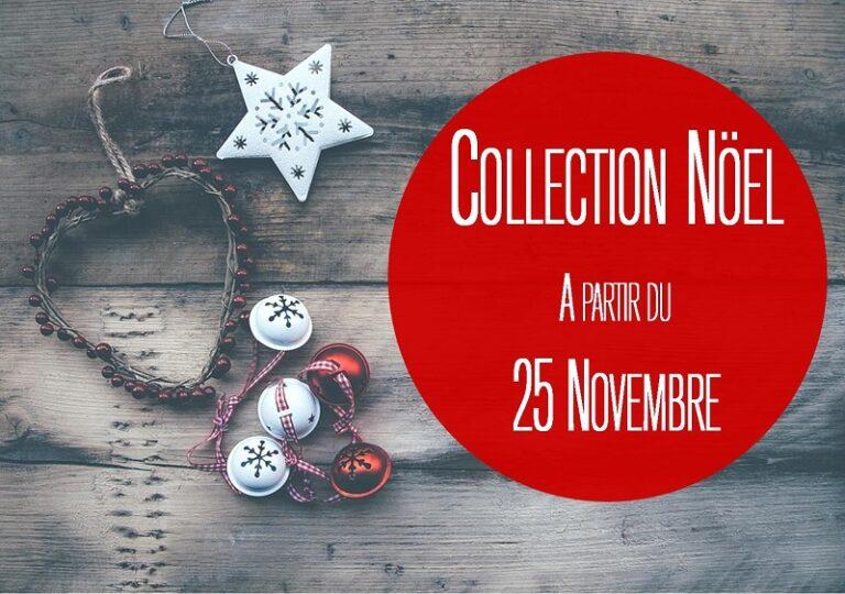 Collection Noel Flora Déco à partir du 25 Novembre